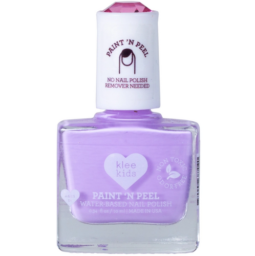 Klee Kids Water-Based Peelable Nail Polish- Concord