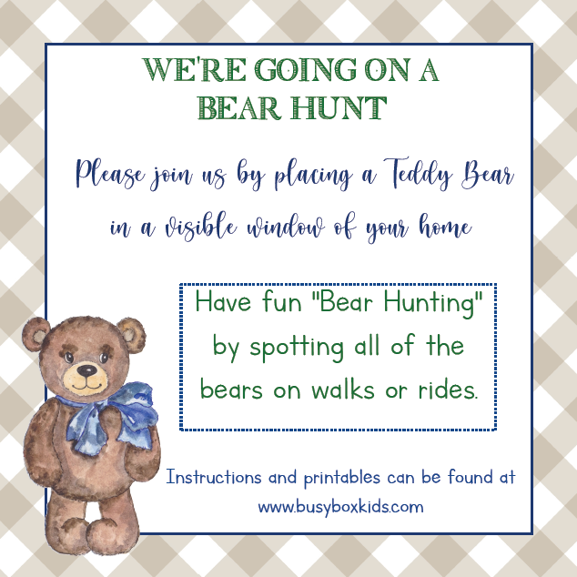 Bear Hunt Activity