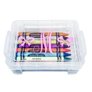Personalized Crayon Box