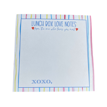 Load image into Gallery viewer, Lunch Box Love Notes