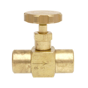 NV104 1/8 BSP FEMALE NEEDLE VALVE