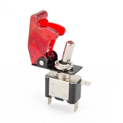 Motorsport Industries Missile Switch - Red
