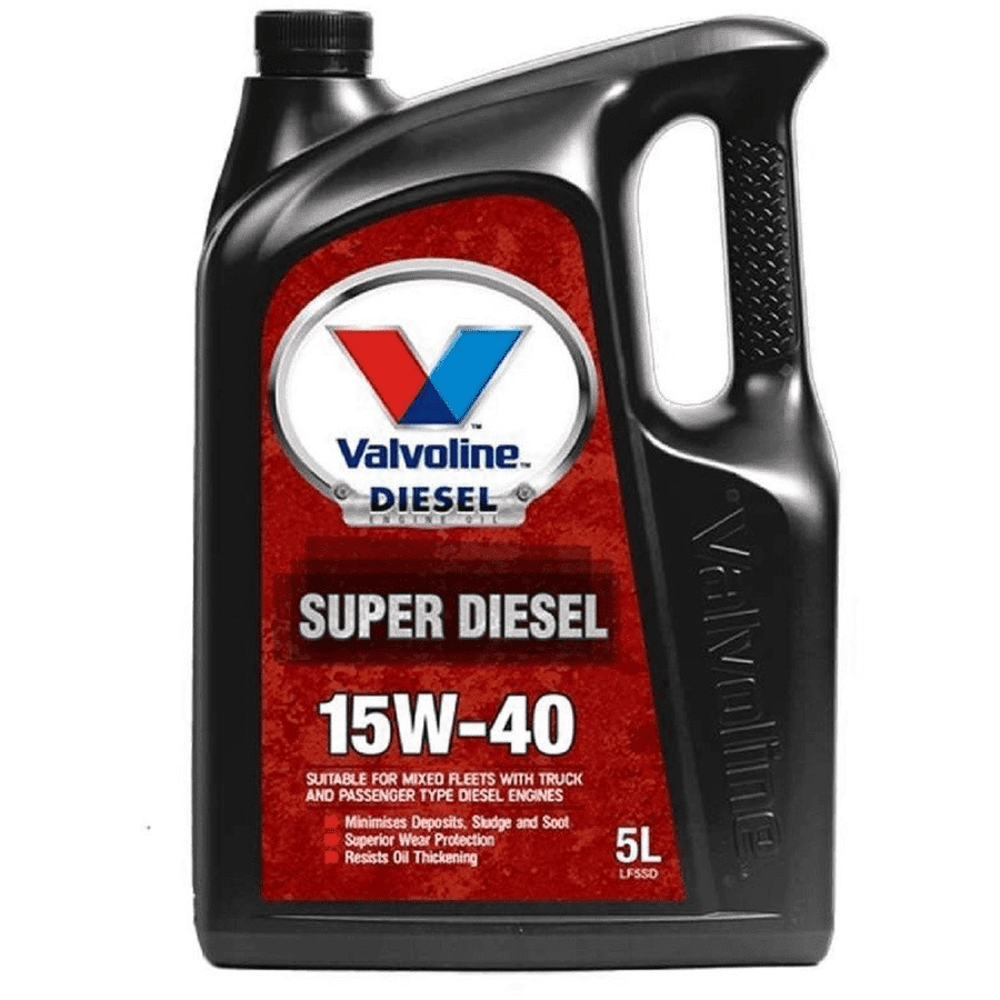 Valvoline Super Diesel Engine Oil -15W-40 5 Litre