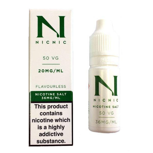 20mg Nic Salt 10ml by Nic Nic (50VG-50PG) Nic Nic - Ohm Bros Limited