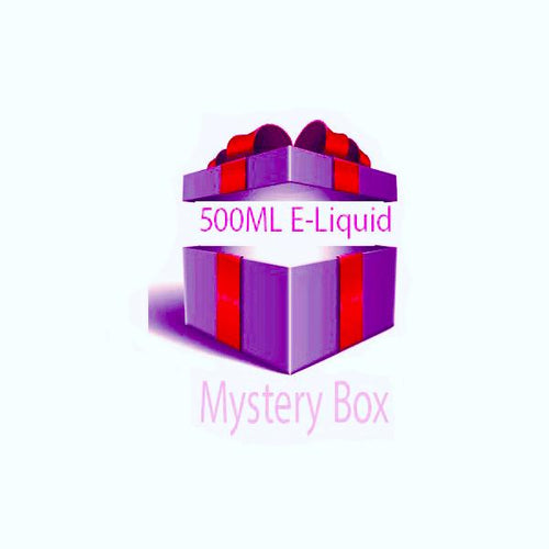 500ml E-liquid Mystery Box Mixed - Ohm Bros Limited