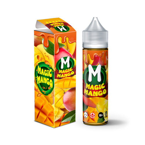 Magic Mango by Fat Panda 60ml Shortfill 0mg (75VG-25PG) Fat Panda - Ohm Bros Limited