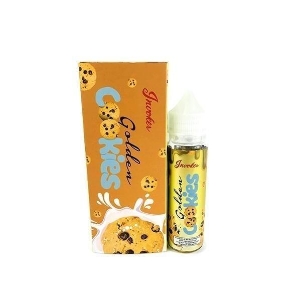 Golden Cookies by Invoker 55ml Shortfill 0mg (70VG-30PG) Invoker - Ohm Bros Limited