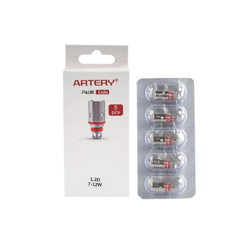 Artery Pal II Replacement Coils 0.6Ohms/1.2Ohms Artery - Ohm Bros Limited