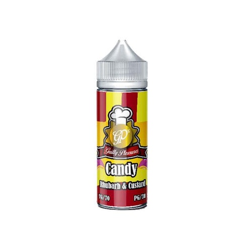 Guilty Pleasures Candy 0mg 100ml Shortfill (70VG/30PG) Guilty Pleasures - Ohm Bros Limited