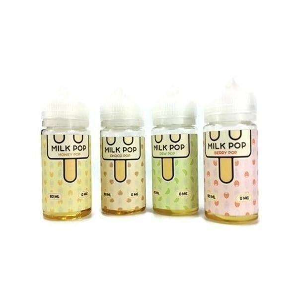 Milk Pop 80ml Shortfill 0mg (70VG/30PG) Milk Pop - Ohm Bros Limited