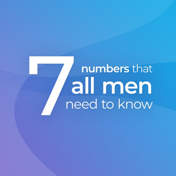 Men's health - do you know you numbers?