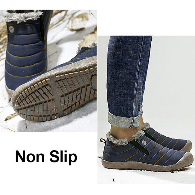 3dffd6a21a8c Women Large Size Unisex Waterproof Fur Lining Snow Boots – yourincoo