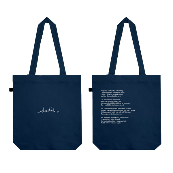 Lyrics Tote Bag