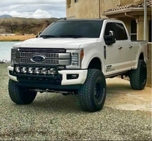 Load image into Gallery viewer, 2017+ FORD SUPER DUTY FRONT BUMPER LIGHT BAR MOUNT KIT