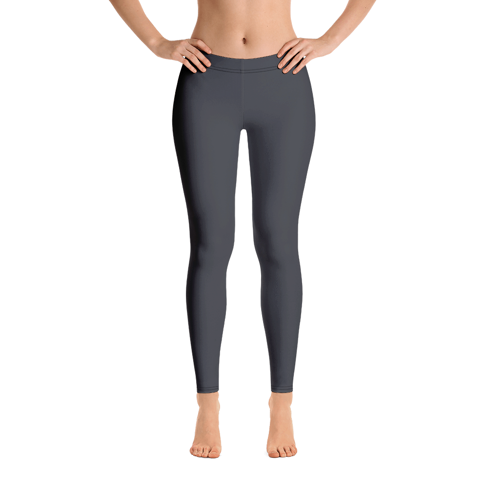 Black Lava Active Leggings