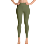 Green Earth Yoga Leggings