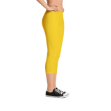 Sunflower Capri Leggings