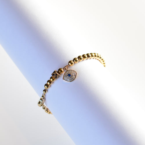 Pulsera Ojo goldfilled