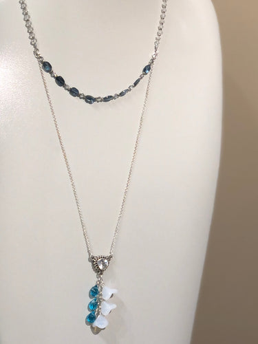 Collar Bel London Blue Topaz