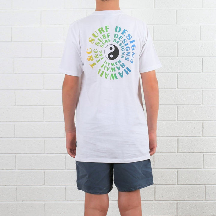 Kids Vortex 2 Tee - White