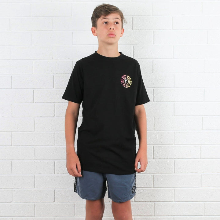 Kids Vortex 2 Tee - Black