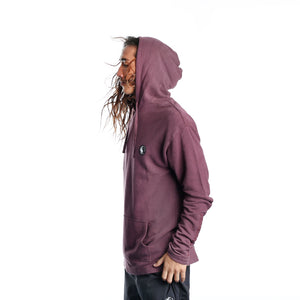 Pearl City Terry Hoodie - Washed Purple