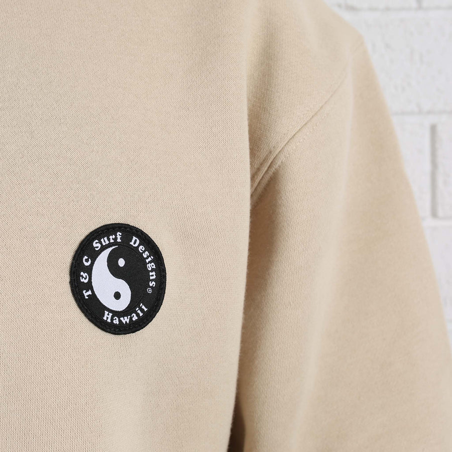OG Patch Crew Fleece - Tan