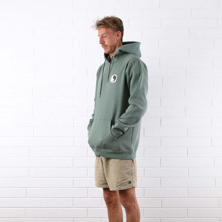 OG Fleece Pop Hood - Sage