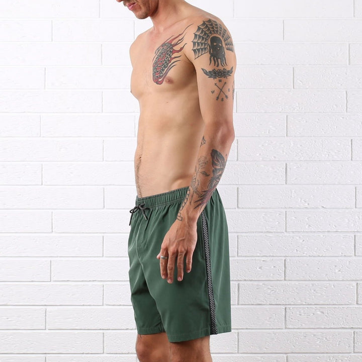 Marvin 4 Way Stretch Short - Army