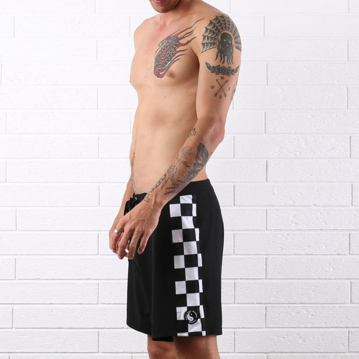 Chunk Check Trunk - Black