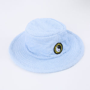 Terry Beach Hat - Light Blue
