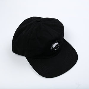 Snap Back Cap - Black / Black