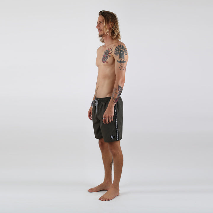 Taped Boardshort - Military