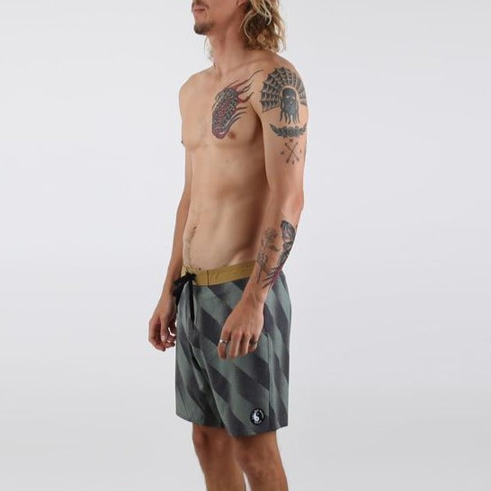 King Dane Boardshort - Military