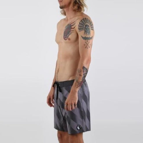 King Dane Boardshort - Charcoal