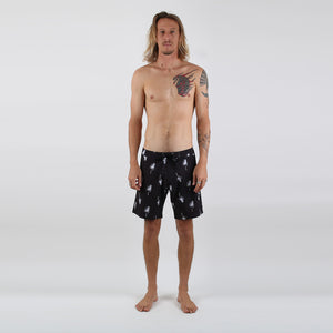 Yin Yang Boardshort - Face Palm