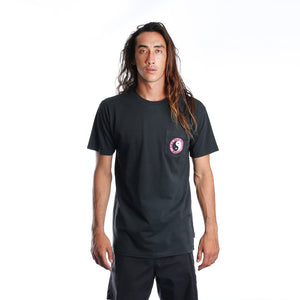 OG Pocket Tee - Washed Black