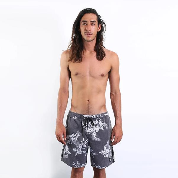Mahalo Short - Washed Black