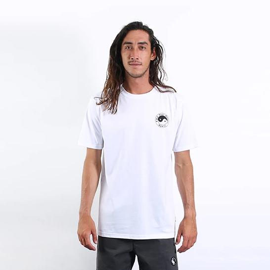 Twisted Limits Tee - White