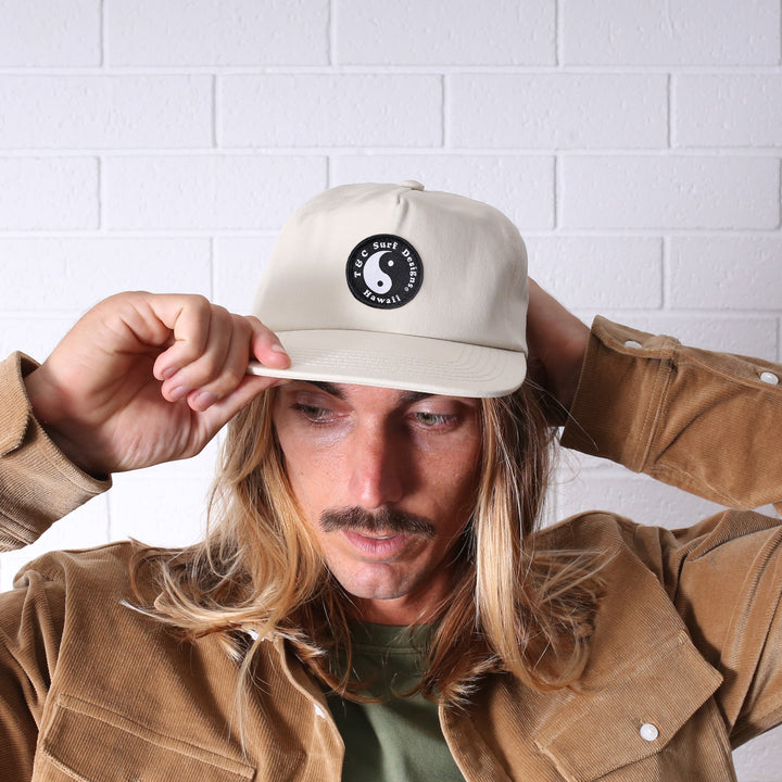 Snap Back Cap - Natural