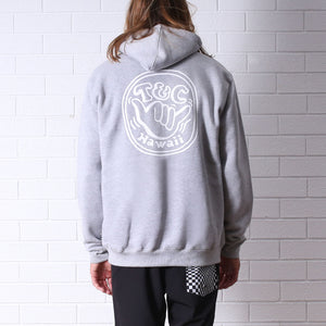 Hangin' Pop Hood - Grey Marle