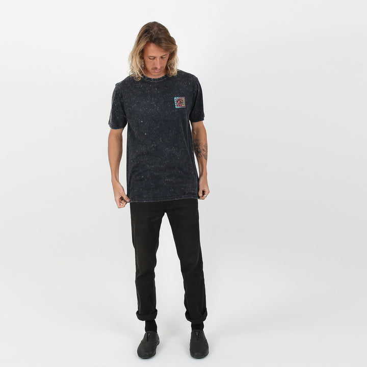 Blender Tee - Acid Black