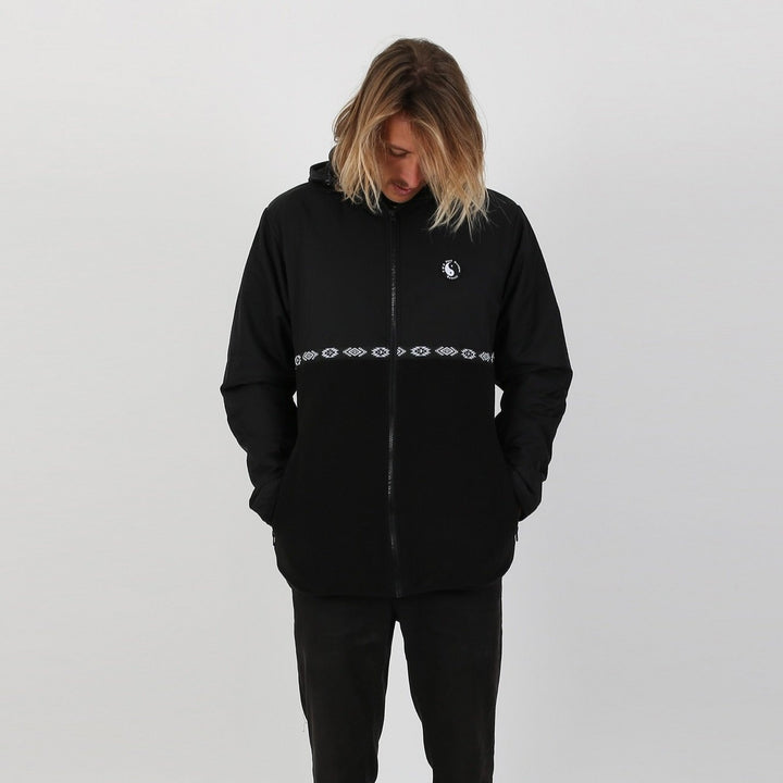 Zone II Polar Fleece Zip Up- Black