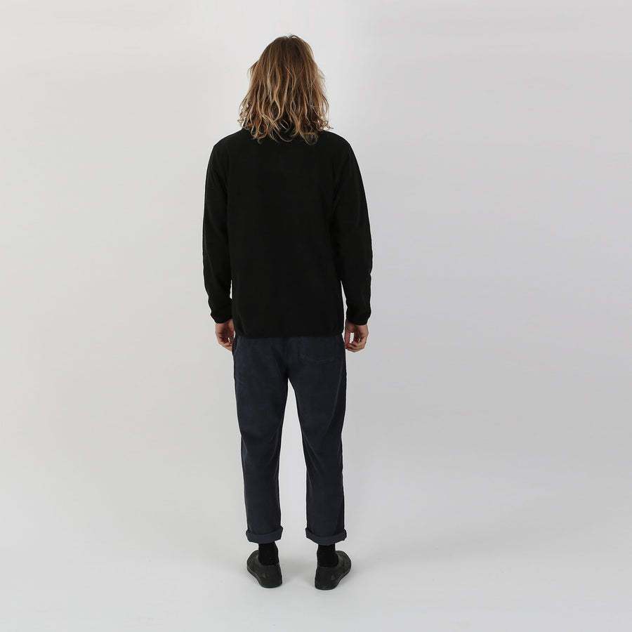 Baja Polar Fleece Jumper - Black
