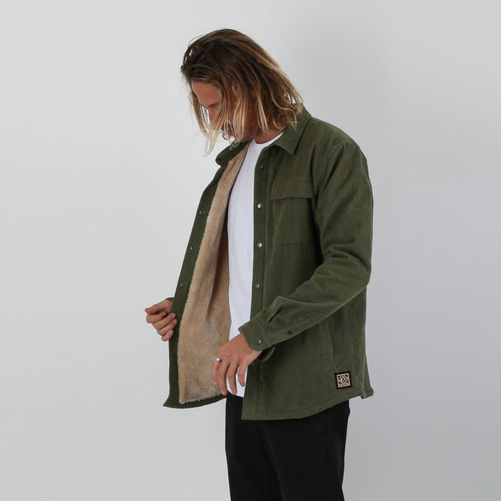 The Ranch - Sherpa Lined Cord Jacket