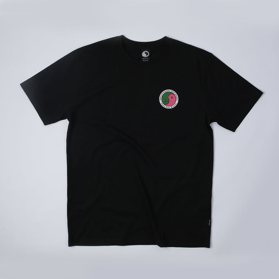 Checker Tee - Black