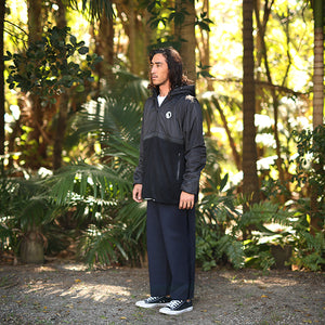 Zone Polar Fleece Zip Up- Black