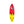 Retro 88 Red Yellow - Thruster Surfboard