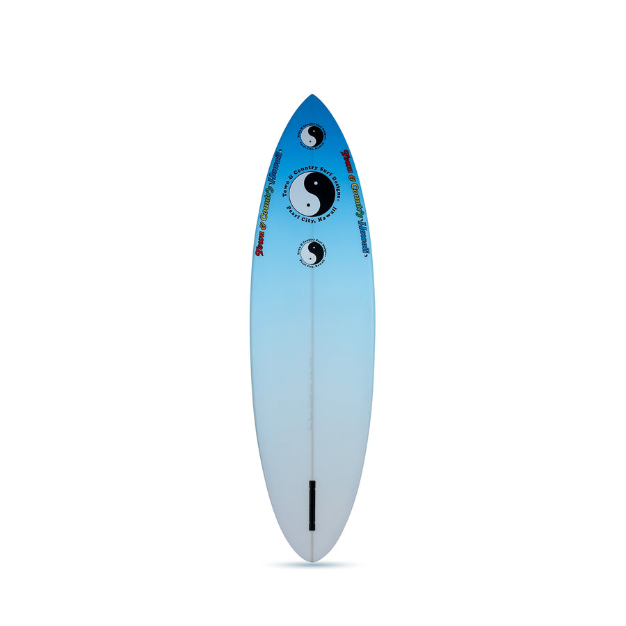 Still Single Blue - Single Fin Surfboard