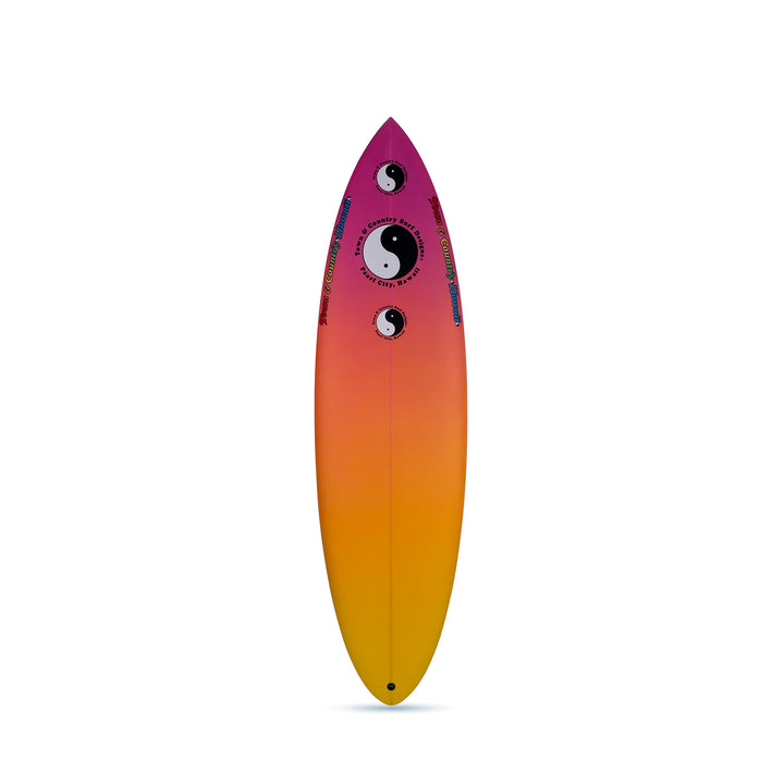 Still Single Tropical - Single Fin Surfboard